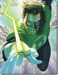 Green Lantern Alex Ross No Fear movie