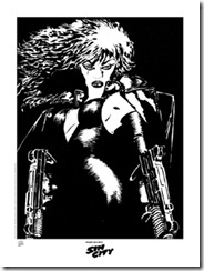 sinCityDaisyLitho