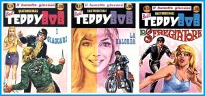 Altre copertine di Teddy Bob, tutte opere dell'illustratore Josè Pin