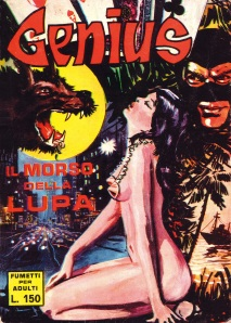 Copertina di Manara per il primo numero di Genius