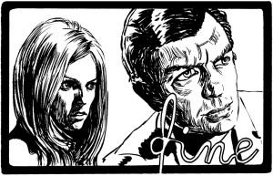Una vignetta conclusiva con Mirna e il suo uomo Lon Flag alias Genius