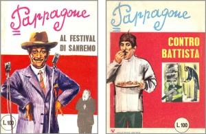 """Pappagone nn.  2 e 6, 1967 (""""Al Festival di Sanremo"""" e """"Contro Battista"""")"""