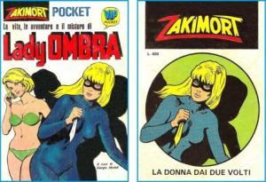 Zakimort (Lady Ombra, Vip Pocket, 1974) e Zakimort (resa ricopertinata, 1975)
