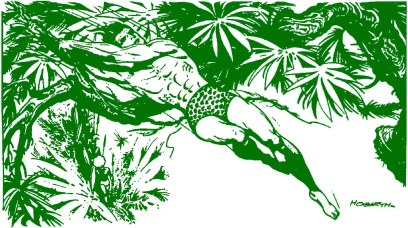 Il Tarzan dinamico e atletico di Burne Hogarth