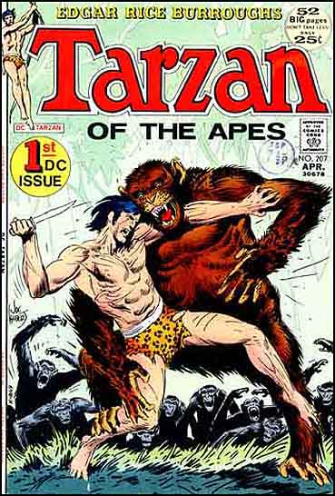 Copertina di Joe Kubert per la versione americana della DC Comics