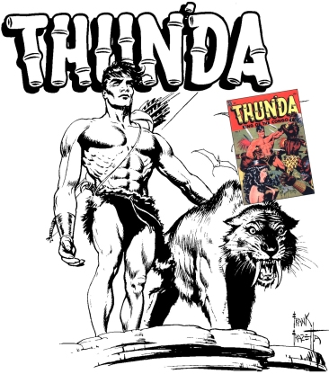 Thun'da King of the Congo di Frank Frazetta