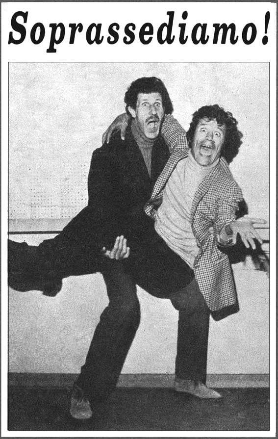 Ciccio e Franco in una foto tipica degli anni 60