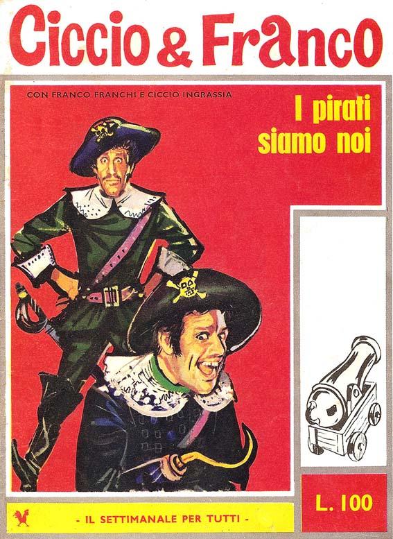 Copertina di Ciccio & Franco numero 4
