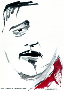 Visto dal pittore-imitatore televisivo Dario Ballantini