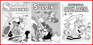 Tre copertine di alcune delle tante serie apparse in edicola