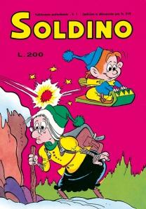 Copertina di Soldino n. 1, 1975