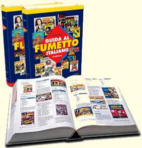 Guida al Fumetto Italiano in due volumi realizzata da Gianni Bono