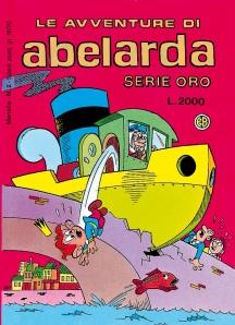 Copertina di Abelarda n. 2, 1991