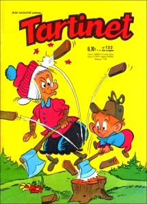 Una delle tante cover di Tartinet, edizione francese di Abelarda
