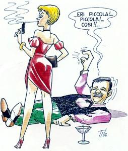 Vignetta di Tiberio Colantuoni, uno dei disegnatori di Nonna Abelarda