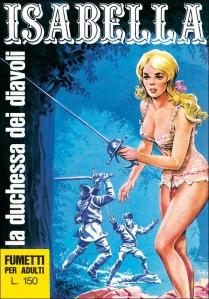 Copertina del primo numero di Isabella