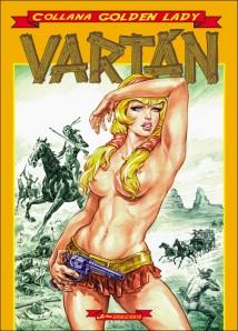 Copertina del volume cartonato che ristampa Vartán