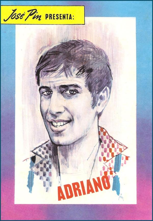 Ritratto di Giuseppe Pini per la quarta di copertina di Teddy Bob, 1967