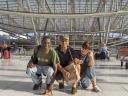 Hassan, Nick e Simo al sottopassaggio Aereoporto - RER