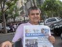 Lucky Luke era allegato al quotidiano Le Figaro.
