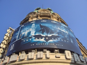 Il Cinema Paramount Operà di Paris - The darknight Returns