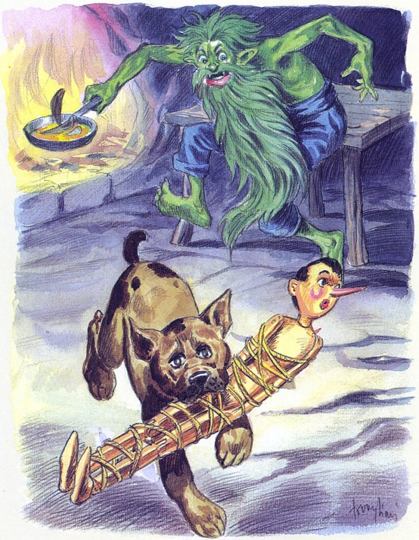 Pinocchio visto da Albino Tovagliari (editore Paravia, 1956)