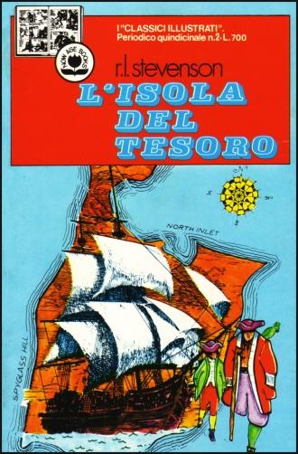 Altra versione a fumetti, del classico di Stevenson, edito in Italia negli anni Settanta