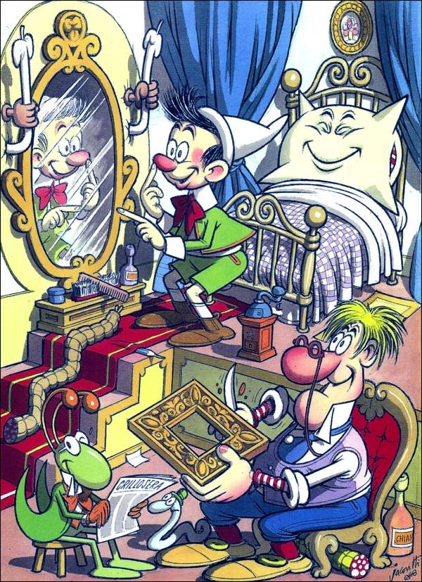 Pinocchio di Benito Jacovitti (editore Avi, 1964)