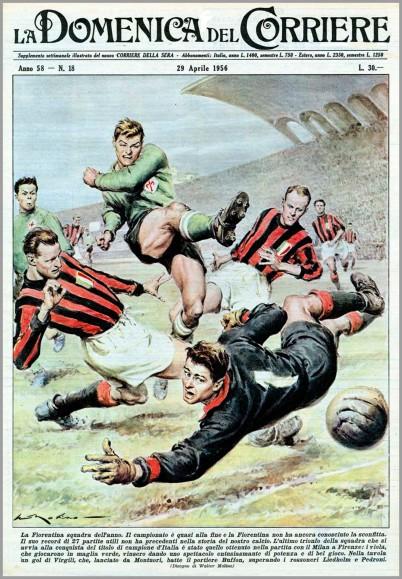 Una copertina di Walter Molino del 1956