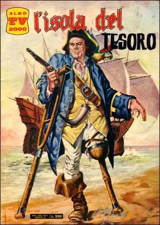 I Fratelli Spada, editori dell'Uomo Mascherato e Mandrake, ne pubblicano una versione nella collana Albo TV 2000, 1968, con copertina dell'ottimo Mario Carìa