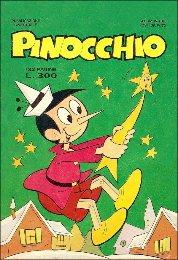 Pinocchio di Colantuoni, Motta, Dossi, Sangalli (editore Bianconi, anni Settanta)