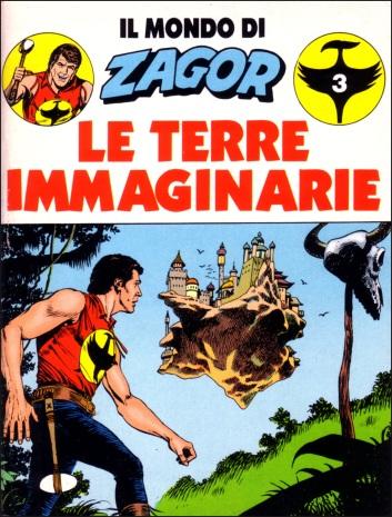 Tutto sulle Terre Immaginarie nel librino, con copertina di Villa, allegato a Zagor, 1990