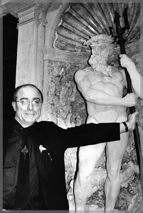 Philippe Druillet, photo by Joe Zattere (Fumetti d'Italia)