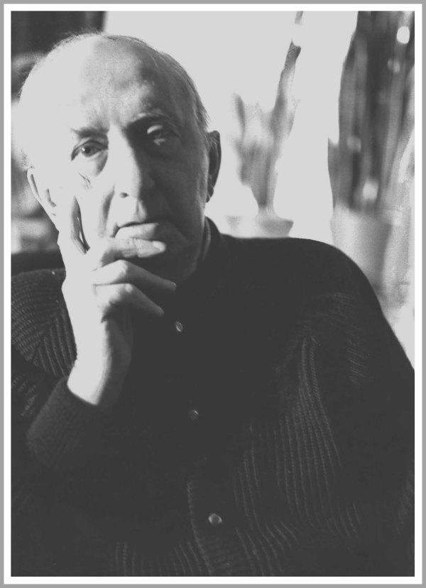 Walter Molino, ritratto fotografico di Joe Zattere, 1994