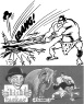 Ridolini e Tarzan, 178 numeri, 1948/1952, disegni Paolo Piffarerio