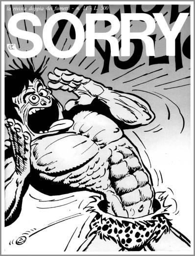 Il Tarzan del francese Gotlib per la rivista Sorry (1973)