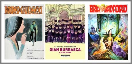 Copertine di Romeo e Giulietta, Gian Burrasca, Brick Bradford