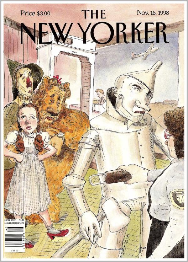 Copertina per il settimanale The New Yorker, 1998