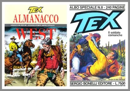 Almanacco del West 1997 e Il soldato comanche per Texone n. 8, 1995