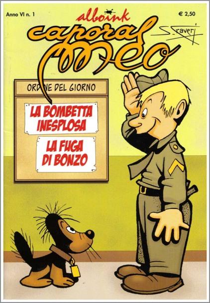 Caporal Meo, Alboink, 1996, ristampa di storie per Vittorioso