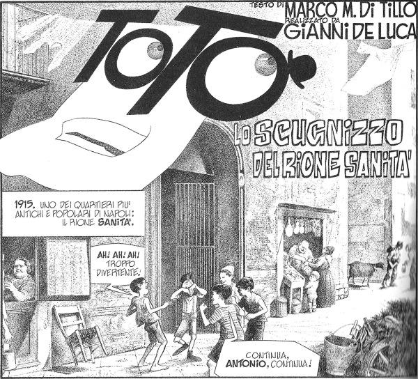 Totò lo scugnizzo del rione sanità, Il Giornalino, 1983