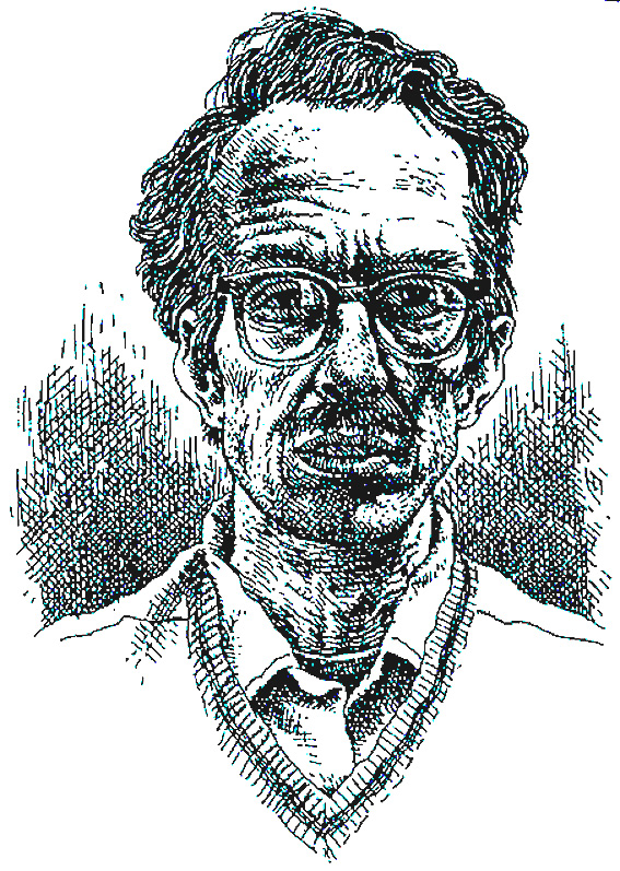 Autoritratto del cartoonist Robert Crumb