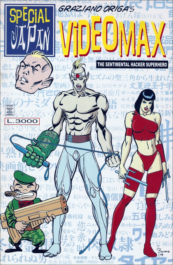 Copertina per il comic book Videomax Special Japan, 1997