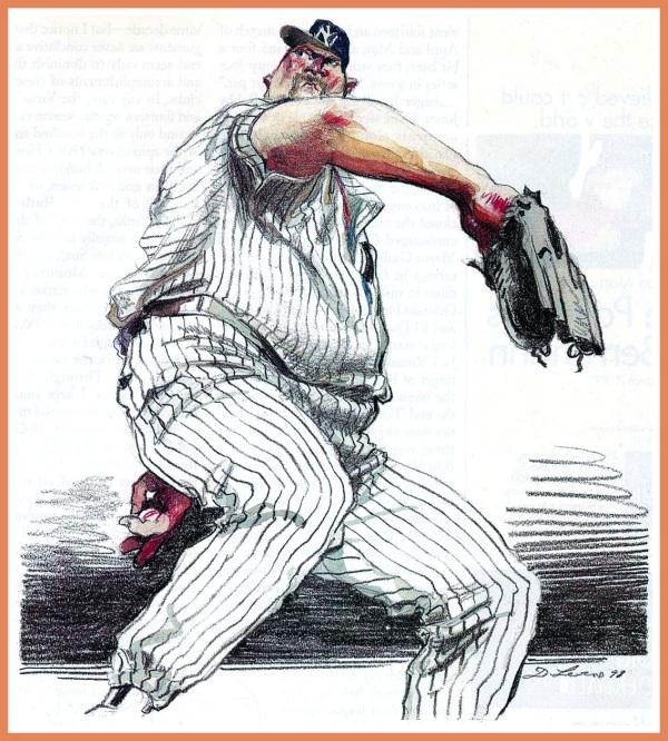 Illustrazione di Levine per il settimanale The New Yorker, 1998
