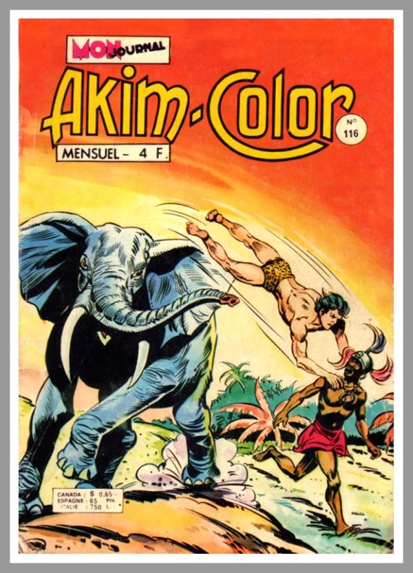 Un numero di Akim in versione francese edito da Aventures et Voyages