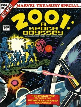 2001 odissea nello spazio capolavoro di Jack Kirby