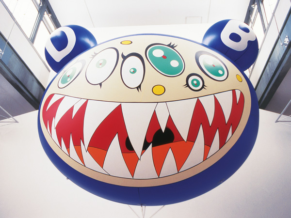 DOB¿s March, 1995 Cloruro di vinile e di elio 235 x 304.8 x 180.3 cm (diametro) Fluid Editions and Archives © 1995 Takashi Murakami/Kaikai Kiki Co., Ltd. Tutti i diritti riservati