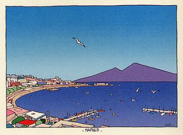 Naples by Moebius