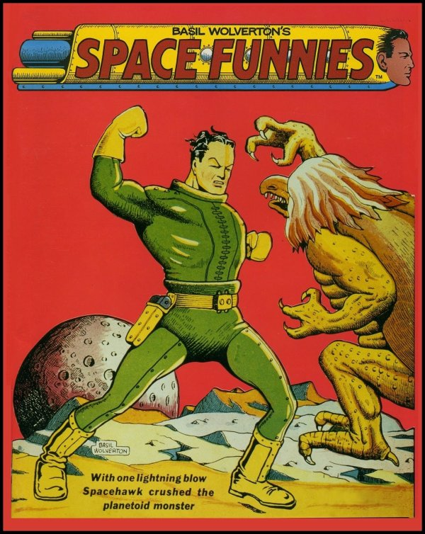 Space Funnies by Basil Wolverton