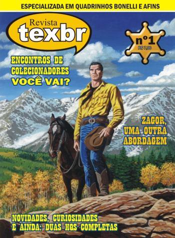 TexBR #1 - Copertina
